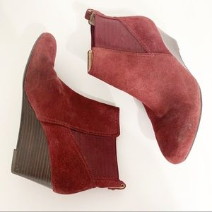 Sole Society Addison wedge boots
